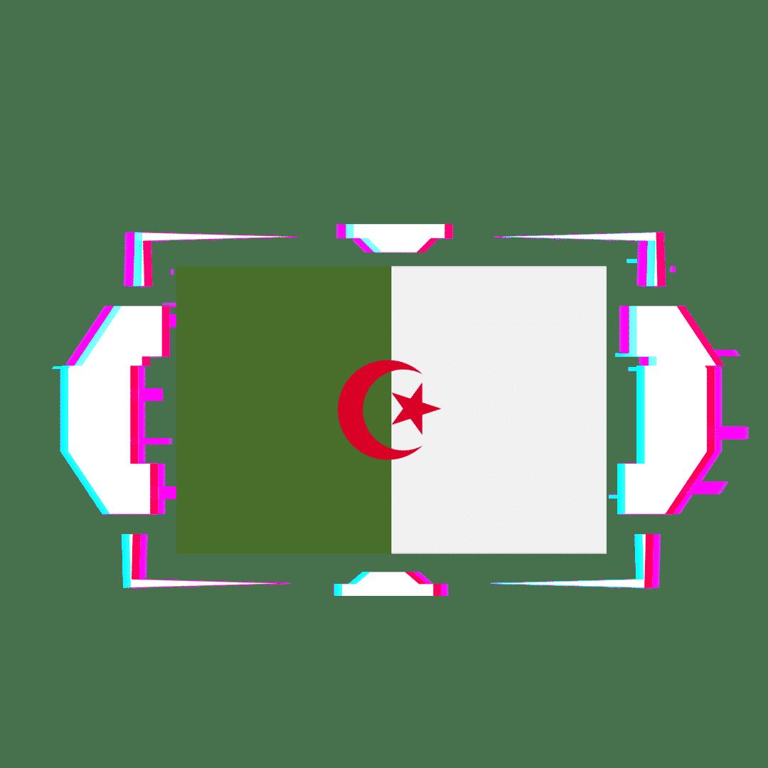 ALGERIA FLAG GLITCH 1