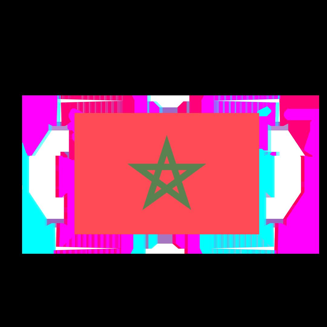 MOROCCO FLAG GLITCH 1